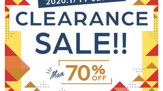 ビッグアメリカンショップ蔵王店・新涯店|CLEARANCE SALE2020年 1/11(土)スタート !