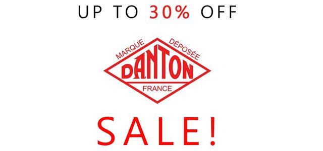 【2021年8月1日】DANTON(ダントン)30%OFFセールスタート!
